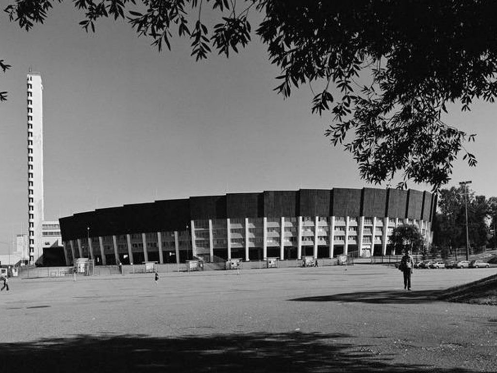 El estadio olímpico de Helsinki