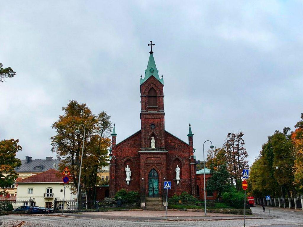 El catolicismo en Finlandia