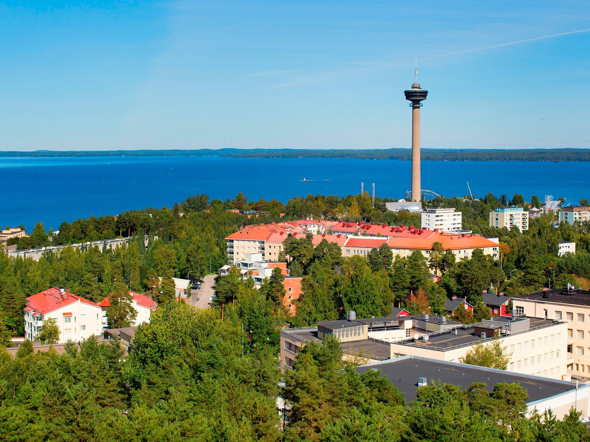 Tampere en verano